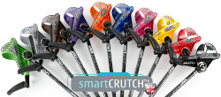 delightful colour range of smartcrutches